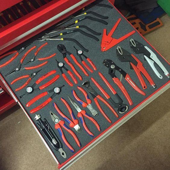 Værktøj i skum