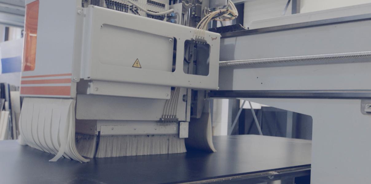 Ny CNC til Flightcase produktion