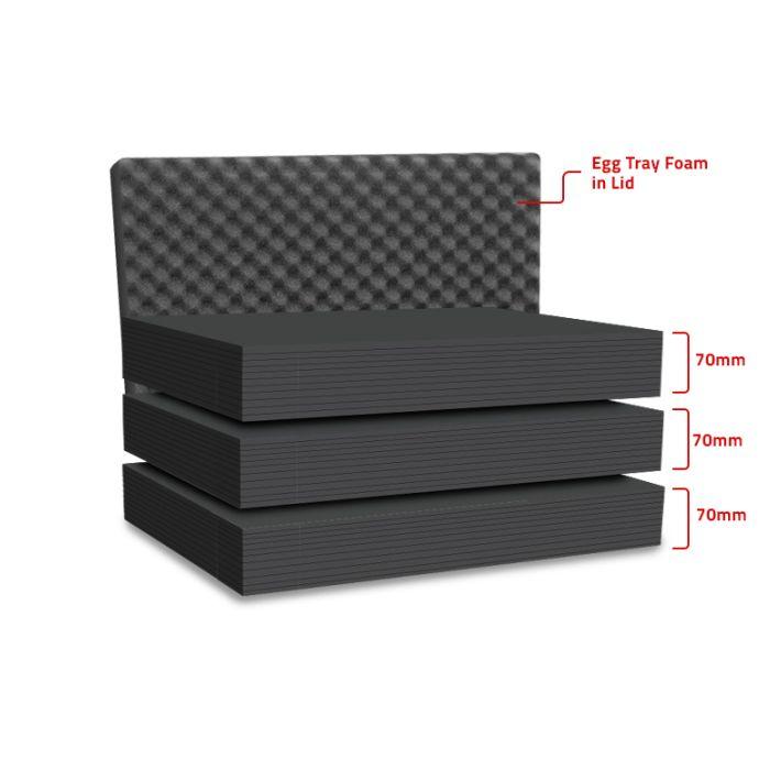 Peli 1610MLF Replacement Multilayer Foam Set