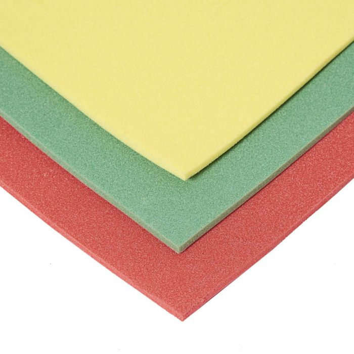 Plastazote LD45 5 mm farvet skum
