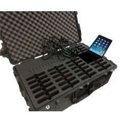 Charge & Sync Case for 16 Apple iPad Tablets