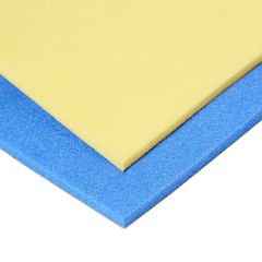 Plastazote LD45 5 mm farvet skum med selvklæb