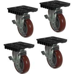 Peli 0507 Caster Wheel Kit