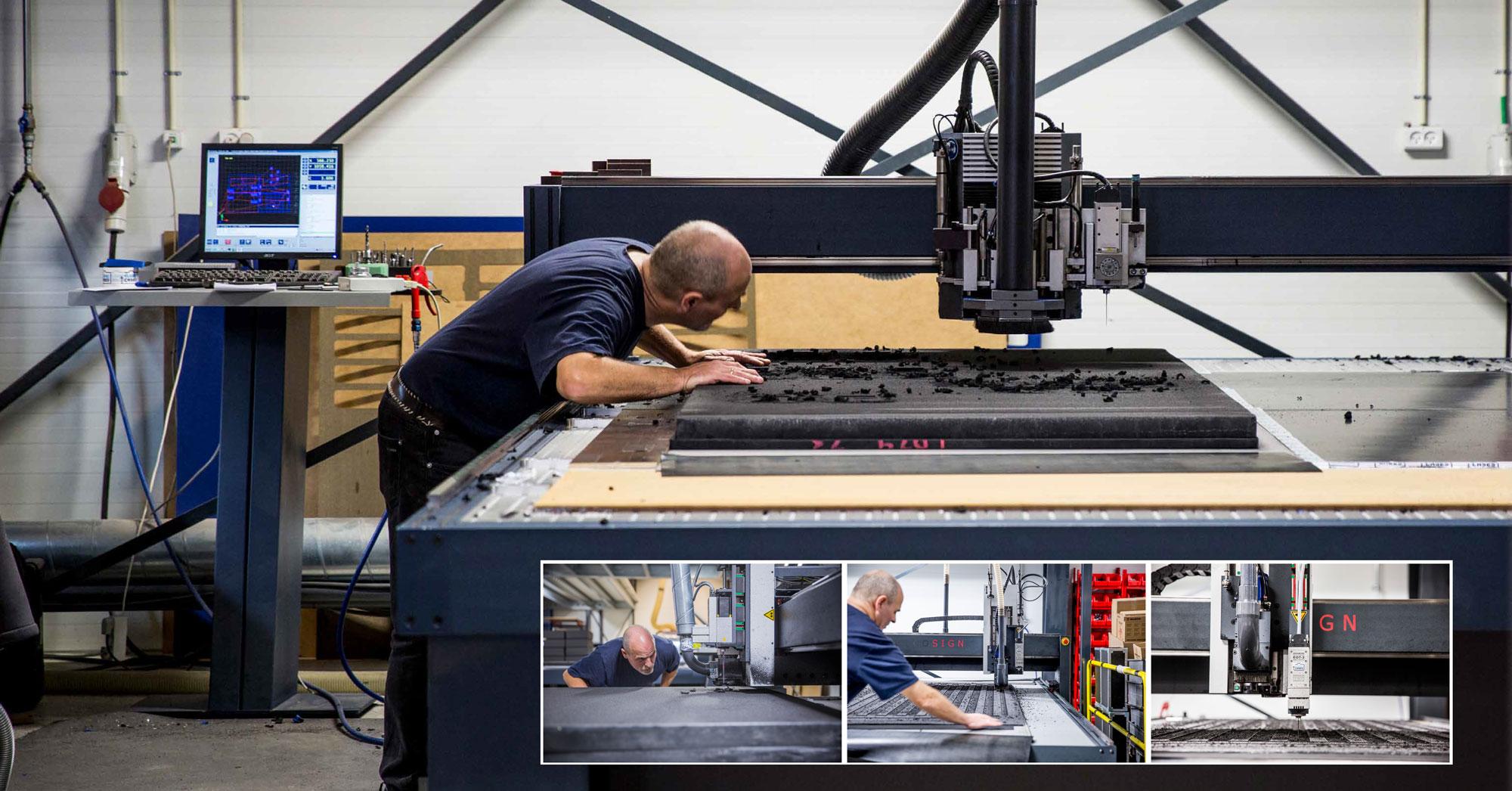 Flightcases udvider produktionen med ny CNC kombineret fræse og knivskærer