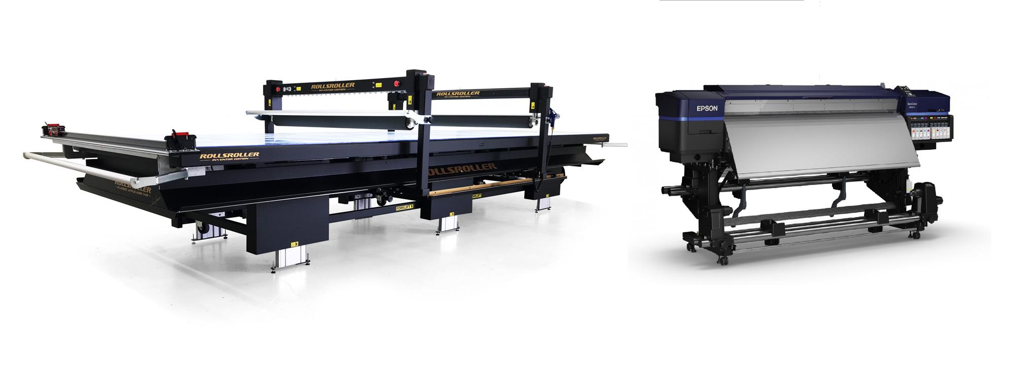 Ny produktionslinje til fuldfarve print på Flightcases