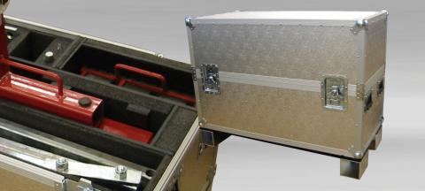 Custom made Flightcase in aluminium with interior for tools