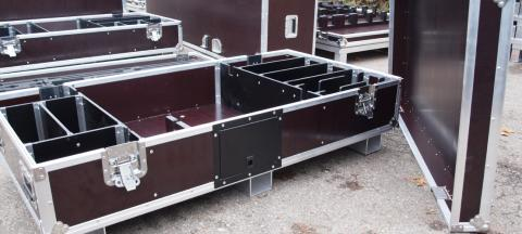 Heavy Duty XXL Flightcase for heavy duty tools