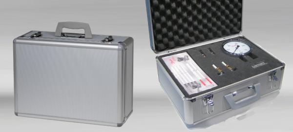 Standard Aluminum Case with pluck foam.