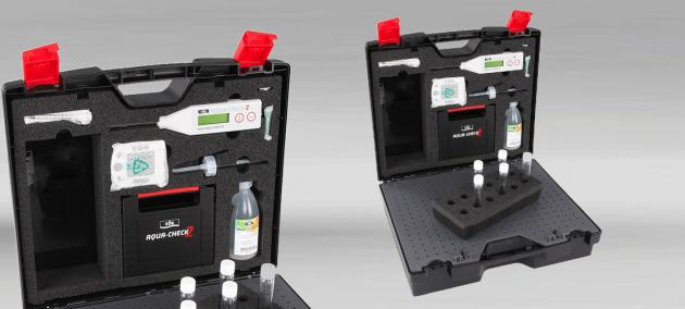 Injection-moulded case.