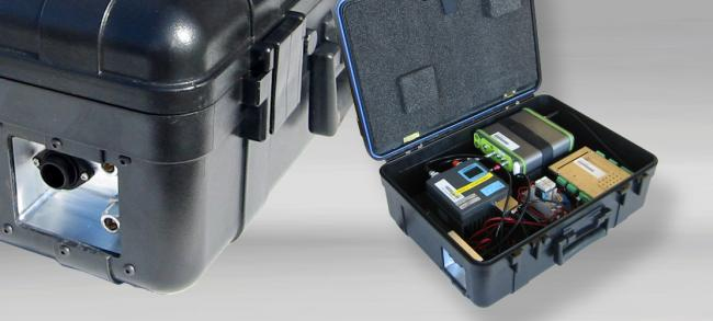 Waterproof Case with build in electronic