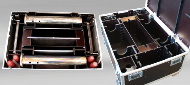 Custom Made Flightcases for heavy duty tooling