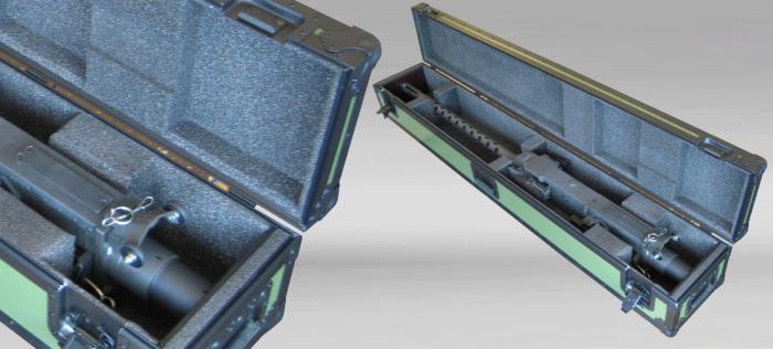 Custom made Flightcases for TMG