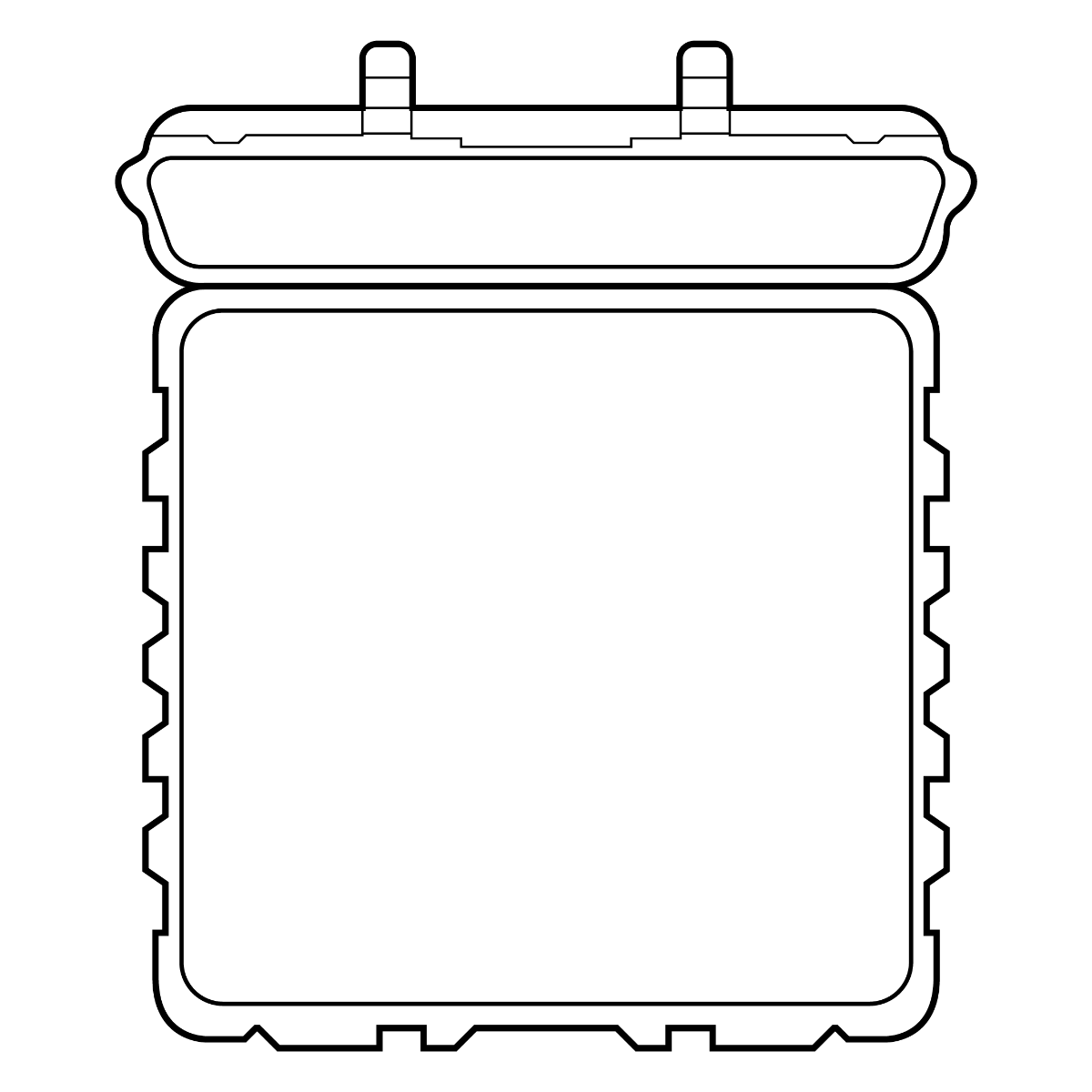 Tom Case eller kuffert - Klar til en specialindretning