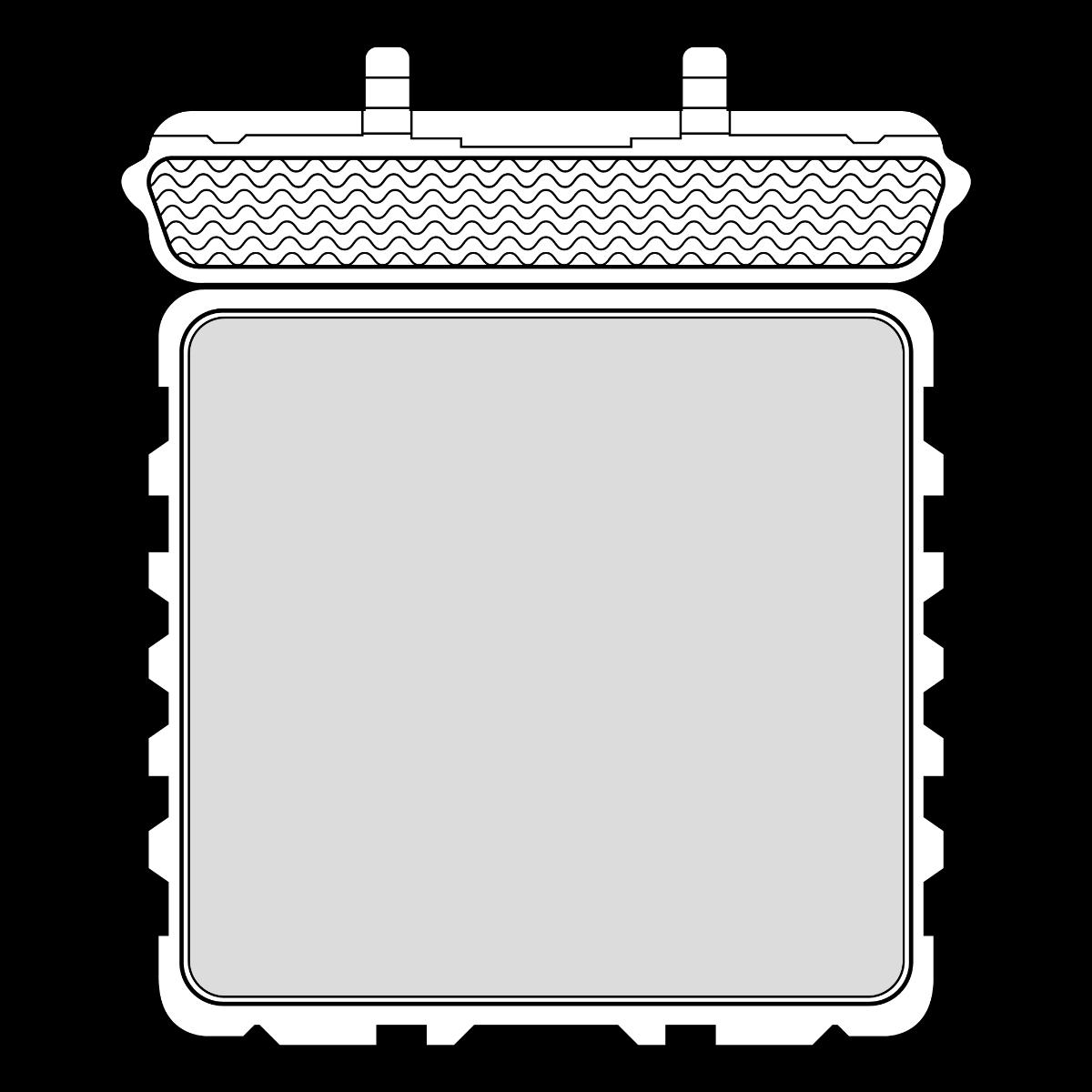 Kuffert med plukskum