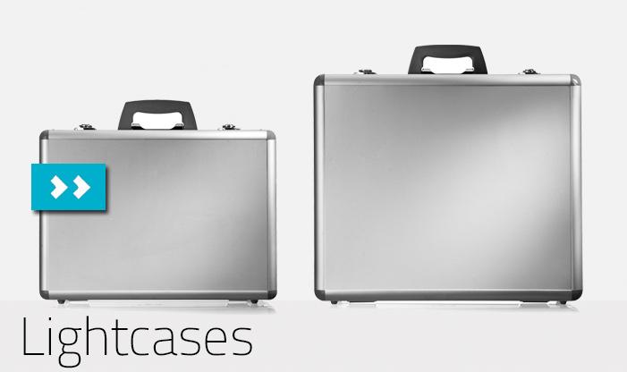 Aluminium Cases med skum