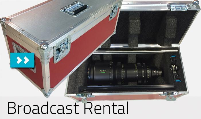Broadcast Rental Flightcases