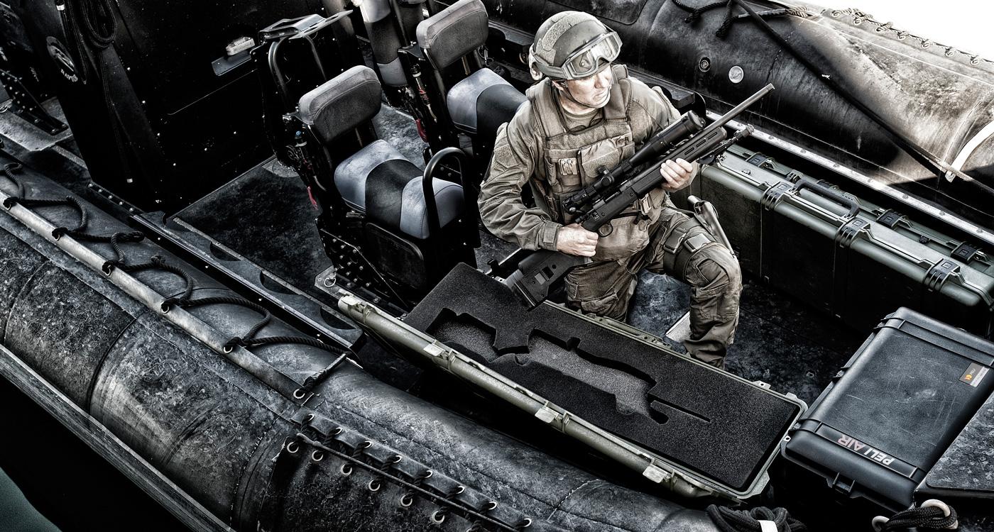 Extreme Military Cases from Peli, Hardigg, NANUK, SKB