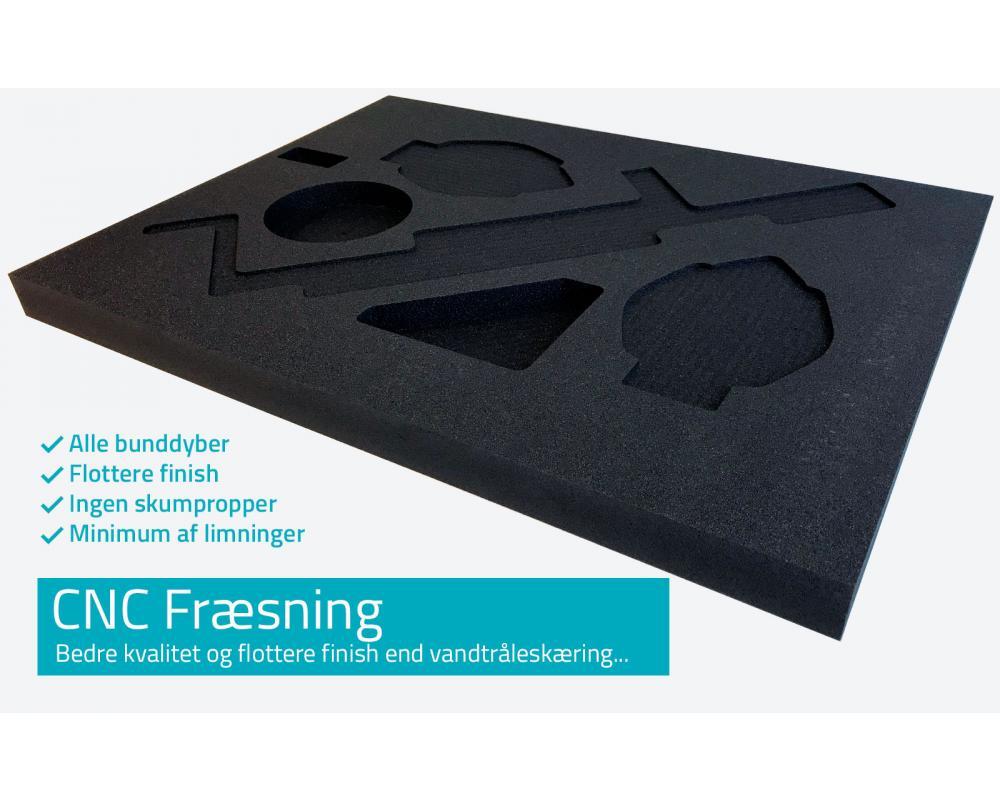 CNC fræsning i skum