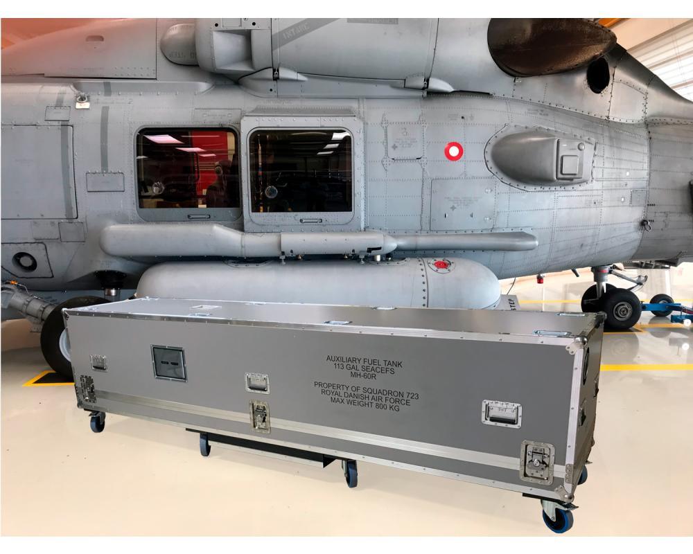 Custom Made Flightcase til det danske forsvar