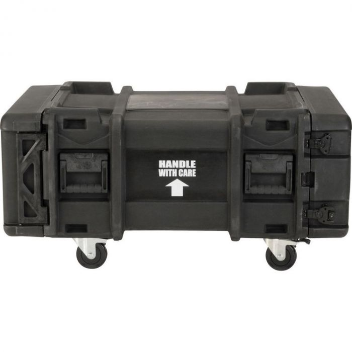 SKB 4U Roto Shockmount Rack Case, 4 Wheel - 28