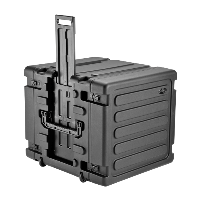 SKB 10U Roto Shockmount Rolling Rack - 20
