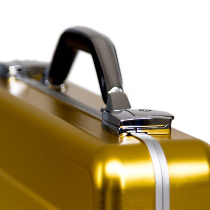 Aluminium Case Gold (440x315x67mm)