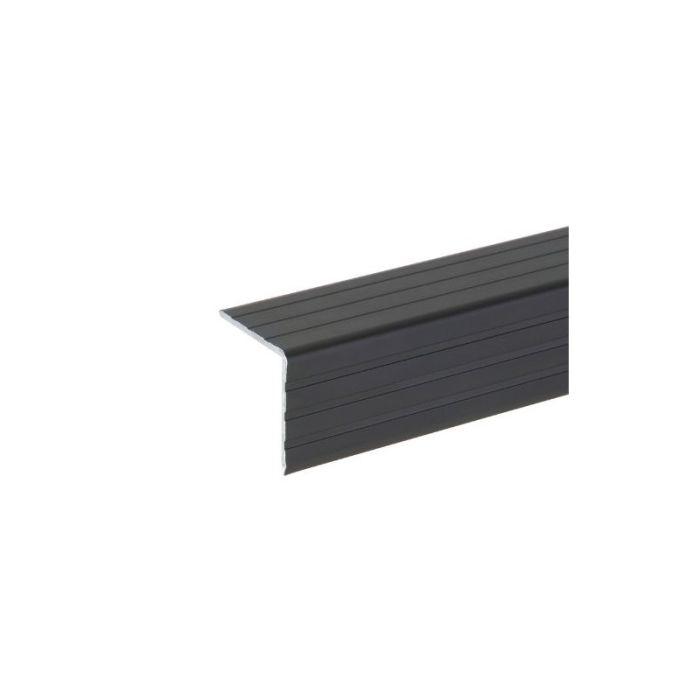 Aluminium Case Angle Black 30 x 30 mm, 2.000 mm