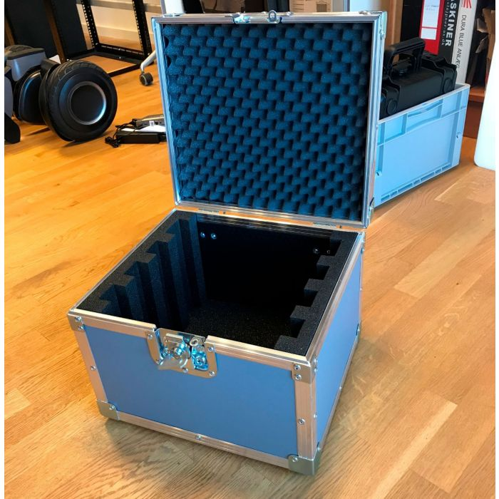 Lagersalg - Specialbygget Flightcase i Grå Plast (340x305x200mm)