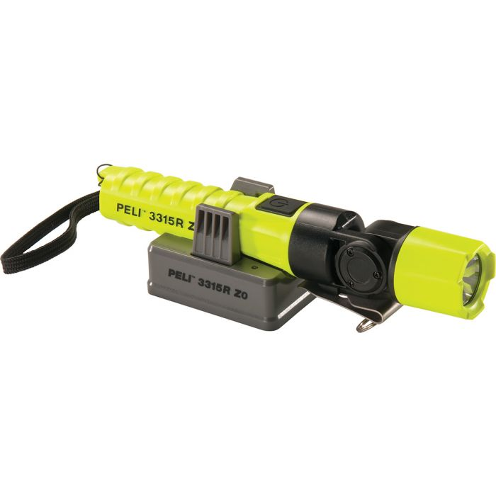 Peli 3315RZ0-RA Right Angle Light - ATEX Zone 0