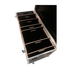 Flightcase Pro 1200 Med Skillerum (1.200x500x550mm)