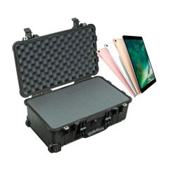 Modular Multiple Laptop Carrying Case 8 pack configuration