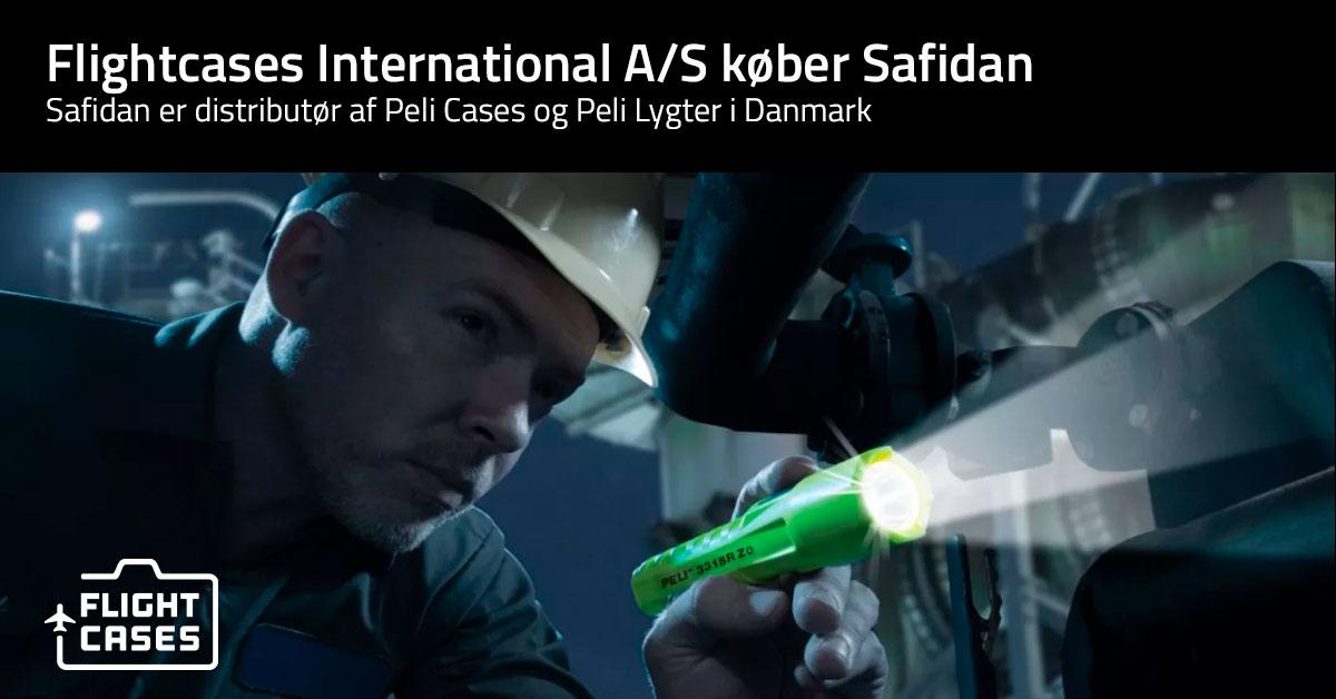 Flightcases International A/S køber Safidan