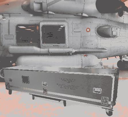 Custom Made case for SEAHAWK fuel tank