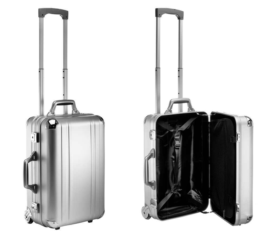 Aluminium Rejsekuffert carry-on