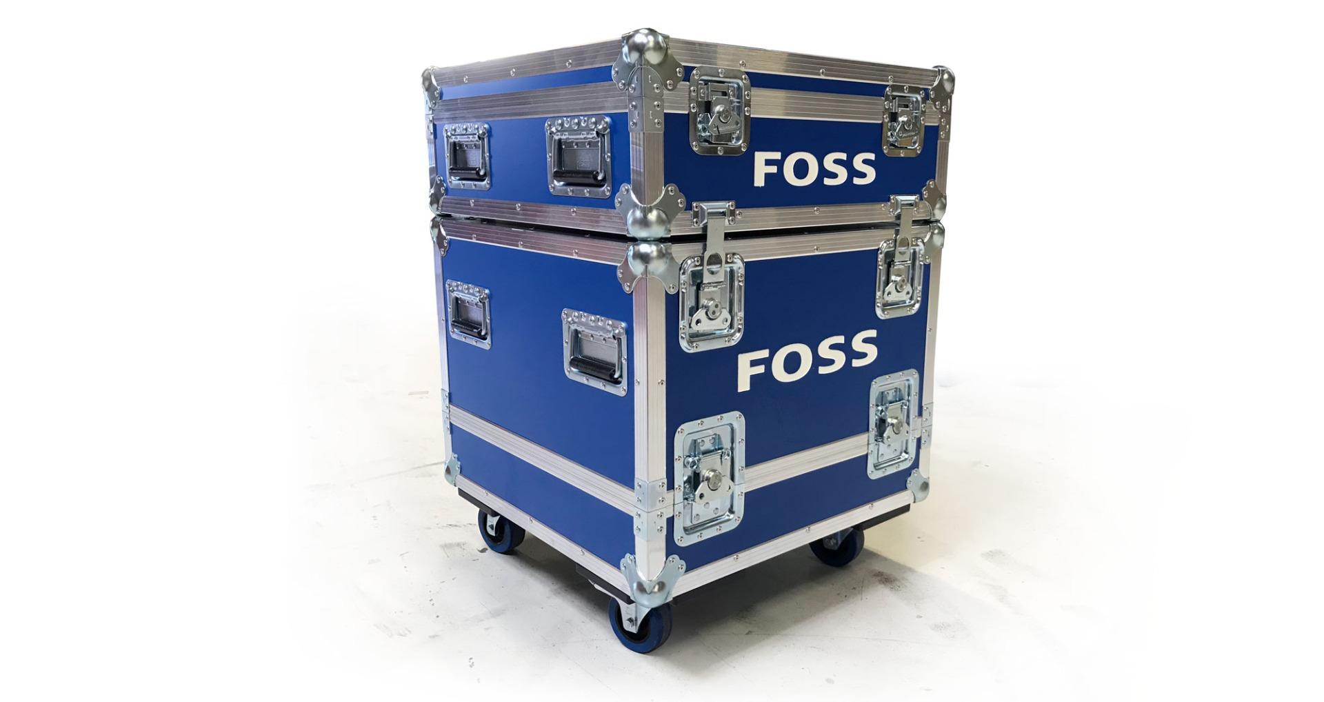 Custom Made Flightcase Stackable