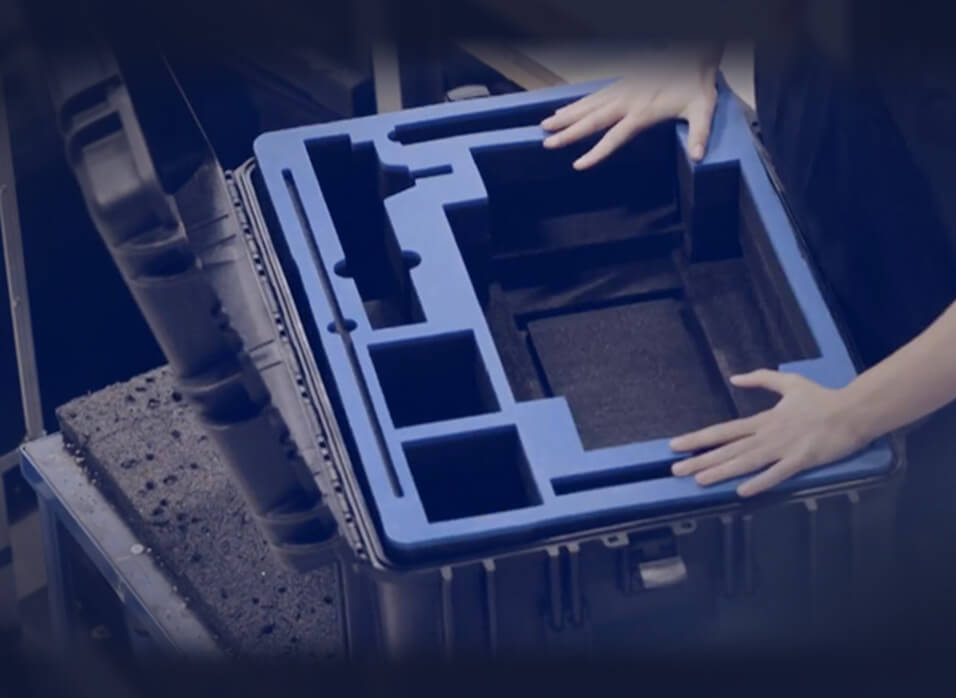 Flightcases International A/s-Customised Foam Interiors