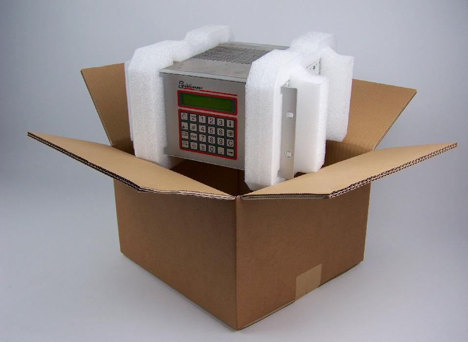 Emballage løsninger - skum og papkasse - også ved små mængder