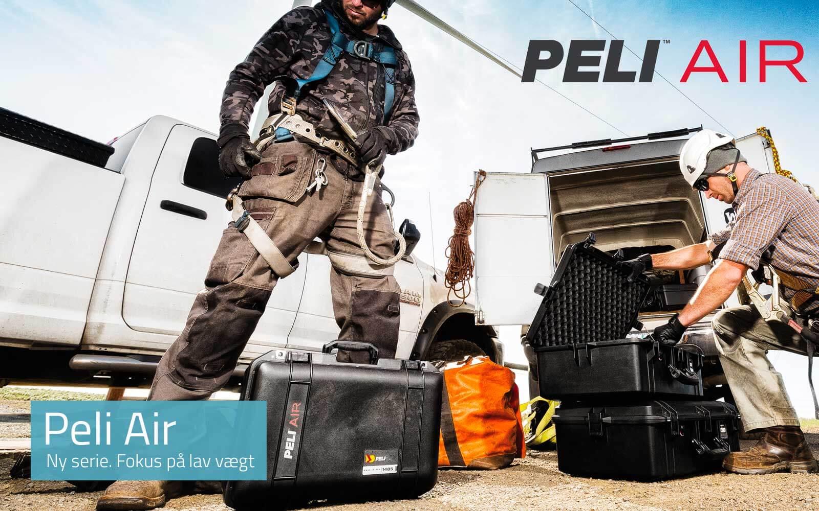 Se de nye Peli Air Cases