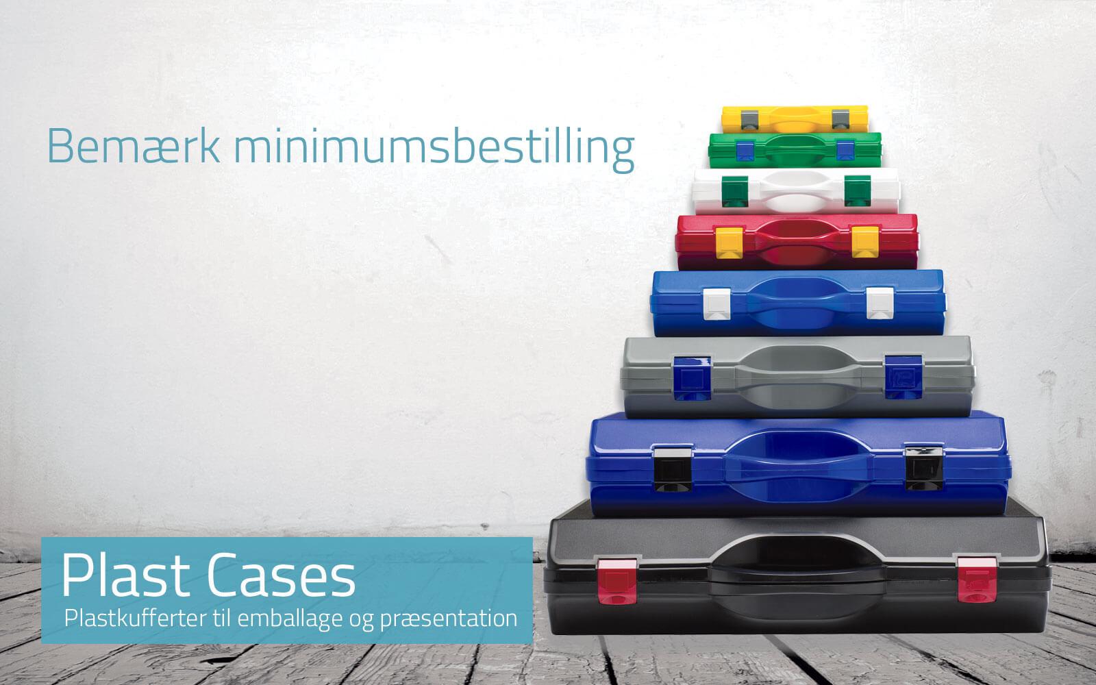 Plast Cases og kufferter til demo og som produktemballage
