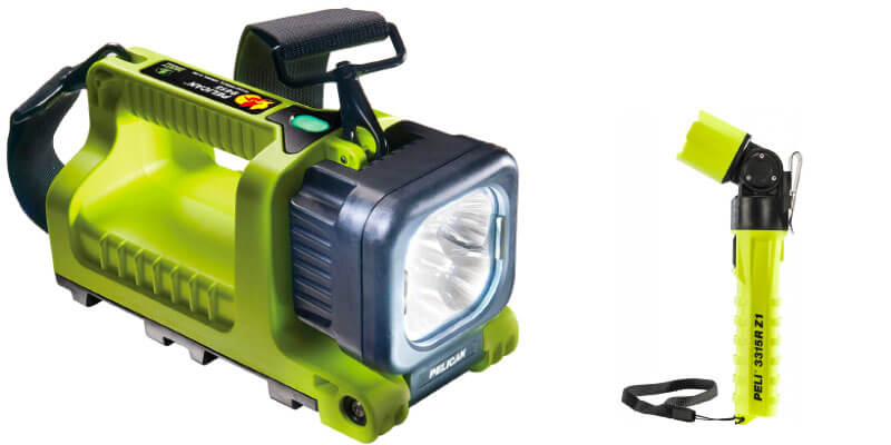 Peli ATEX Lights