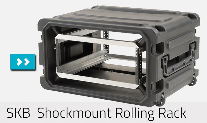 SKB Roto Rooling Shock Rack