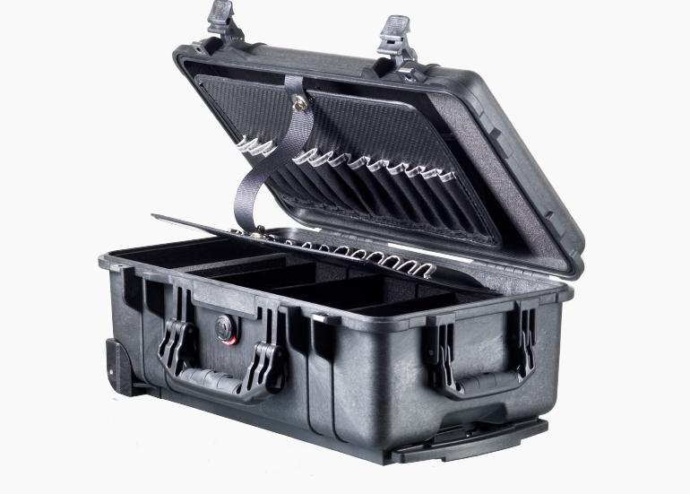 Vælg mellem mange størrelser af  Peli Tool Cases