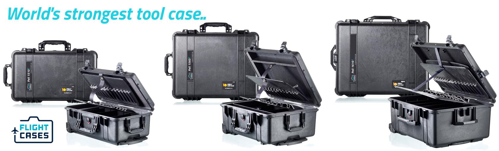 Peli Tool Cases Lineup